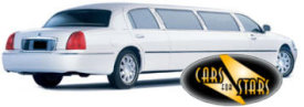 Limo Hire Baxley - Cars for Stars (Southampton) offering white, silver, black and vanilla white limos for hire