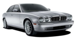 Chauffeur driven cars in Southampton area, including the long wheel based version of the new Jaguar XJ