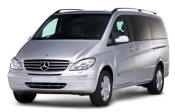 Chauffeur driven Mercedes Viano people carrier - Up to 7 passengers in comfort, from Cars for Stars (Southampton)
